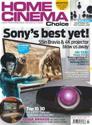 Home Cinema Choice Issue 209 issue Home Cinema Choice Issue 209