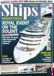 Ships Monthly September 2012 issue Ships Monthly September 2012