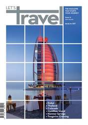 Let's Travel Magazine Cover