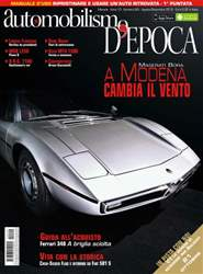 Automobilismo d'Epoca 8-9 2012 issue Automobilismo d'Epoca 8-9 2012