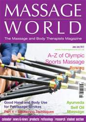Massage World Jun-Jul 2012 issue Massage World Jun-Jul 2012