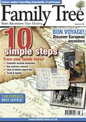 Family Tree September 2012 issue Family Tree September 2012