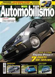 Automobilismo 9-2012 issue Automobilismo 9-2012