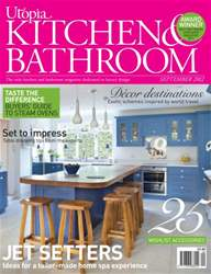 Utopia Kitchen & Bathroom Magazine Cover