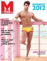 MM in English Magazine Cover