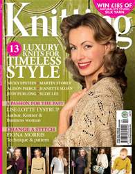 Knitting Magazine Cover