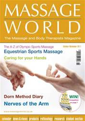 Massage World Oct-Nov 2011 issue Massage World Oct-Nov 2011