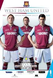 West Ham United v Aston Villa issue West Ham United v Aston Villa