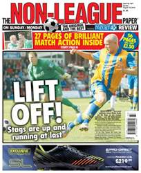 The Non-League Football Paper Magazine Cover