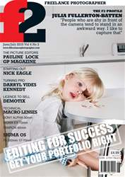 f2 Freelance Photographer Magazine Cover