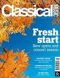 Classical Music Music 25 August issue Classical Music Music 25 August