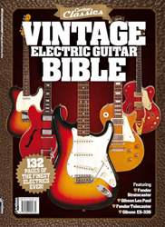 Vintage Guitar Bible Magazine Cover