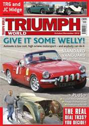 Triumph World Oct-Nov 12 issue Triumph World Oct-Nov 12