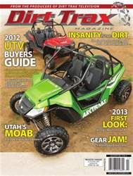 Dirt Trax Magazine Magazine Cover