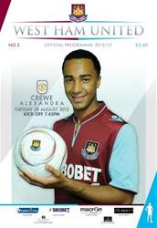 West Ham United v Crewe issue West Ham United v Crewe