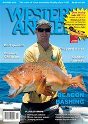 Western Angler Magazine Cover