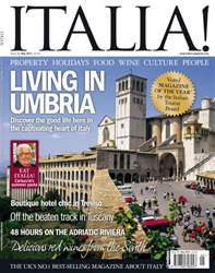 May 2011 Living in Umbria issue May 2011 Living in Umbria