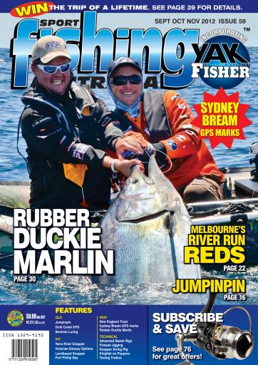 Sports Fishing Australia Preview