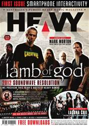 HEAVY MAG Magazine Cover