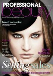 Professional Beauty October 2012 issue Professional Beauty October 2012