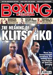 Boxing Monthly October 2012 issue Boxing Monthly October 2012