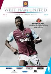 West Ham United v Sunderland issue West Ham United v Sunderland