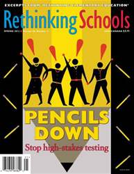 Rethinking Schools Magazine Cover