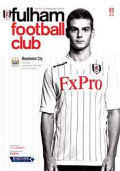 Fulham v Manchester City issue Fulham v Manchester City