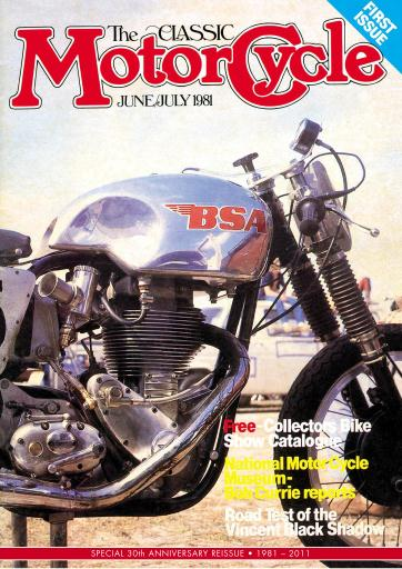 The Classic MotorCycle Digital Issue
