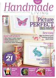 Handmade Living Magazine Cover