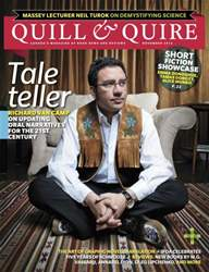 Quill & Quire Magazine Cover