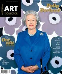 Art Collector Magazine Cover
