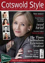 Cotswold Style October 2012 issue Cotswold Style October 2012
