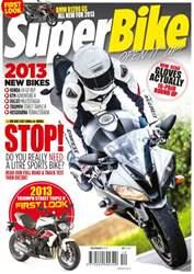 Superbike Magazine Magazine Cover