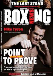 Boxing News Magazine Cover