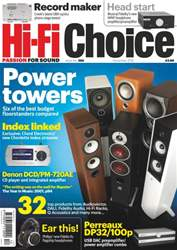 Hi-Fi Choice December 2012 issue Hi-Fi Choice December 2012