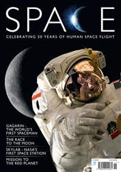 Space Flight Magazine Cover