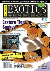 Ultimate Exotics Magazine Cover