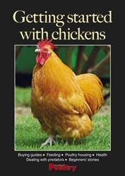 Getting started with chickens Magazine Cover