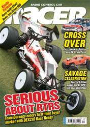 Radio Control Car Racer Magazine Cover