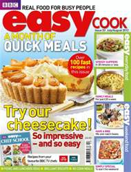 BBC Easy Cook Magazine Magazine Cover