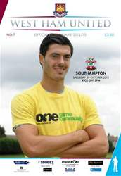 WEST HAM UNITED V SOUTHAMPTON issue WEST HAM UNITED V SOUTHAMPTON