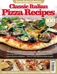 Classic Italian Pizza Collection Magazine Cover