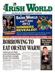 The Irish World issue The Irish World