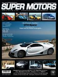SUPER MOTORS Magazine Cover