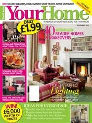 Your Home Magazine Magazine Cover