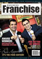 Business Franchise Australia&NZ Magazine Cover