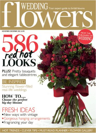 wedding flowers magazine nov dec 2012 subscriptions pocketmags. Black Bedroom Furniture Sets. Home Design Ideas