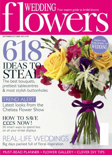 wedding flowers magazine sept oct 2012 subscriptions pocketmags. Black Bedroom Furniture Sets. Home Design Ideas
