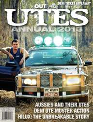 UTES Annual 2013 issue UTES Annual 2013